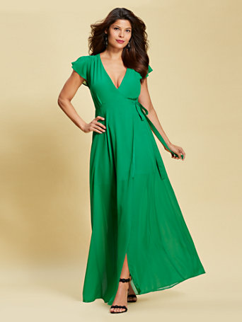 Eva Mendes Collection - Allison Maxi Dress | Tuggl