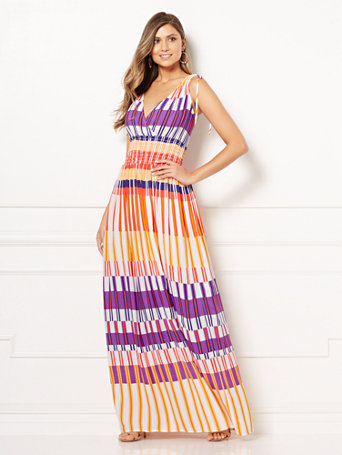 Shoptagr Eva Mendes Collection Athena Maxi Dress By New York Company