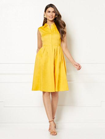 Eva Mendes Collection   Brita Shirtdress by New York & Company