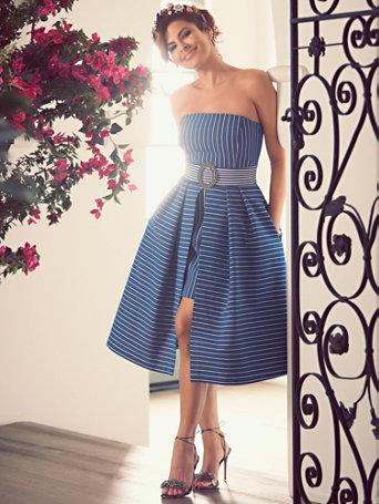 Ny Amp C Eva Mendes Collection Freya Strapless Dress