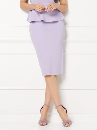 Eva Mendes Collection   Jacqui Sweater Skirt by New York & Company