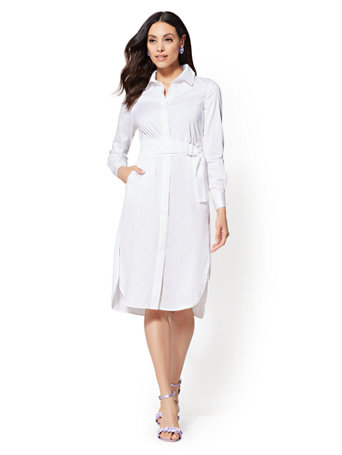 Shoptagr | Eva Mendes Collection Lainie Shirtdress by New York & Company
