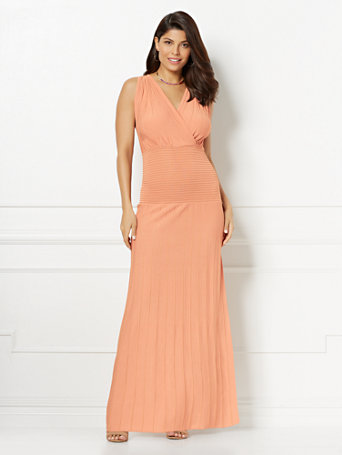 Eva Mendes Collection   Laurene Maxi Sweater Dress by New York & Company