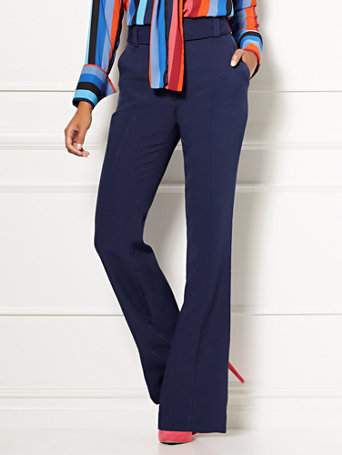 Eva Mendes Collection   Maura Flare Pant by New York & Company