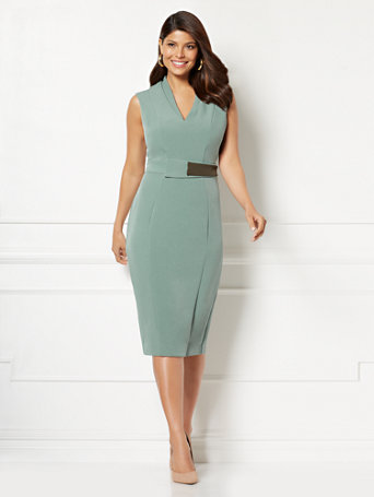 Eva Mendes Collection   Petite Leandra Sheath Dress by New York & Company