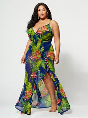 Ftf Deanna Maxi Dress by New York & Company