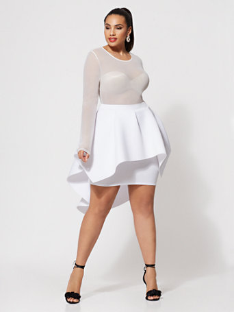 Ftf Jacqueline Drama Skirt by New York & Company