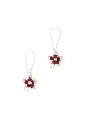 Floral Drop Earring by New York & Company