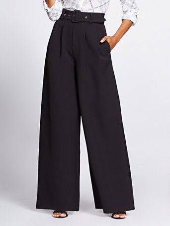 Gabrielle Union Collection   Black Wide Leg Pant by New York & Company