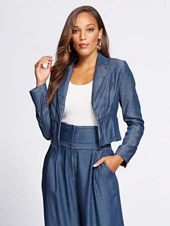 Gabrielle Union Collection   Corset Jacket by New York & Company