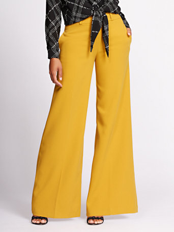 Gabrielle Union Collection   Double Waistband Wide Leg Pant by New York & Company