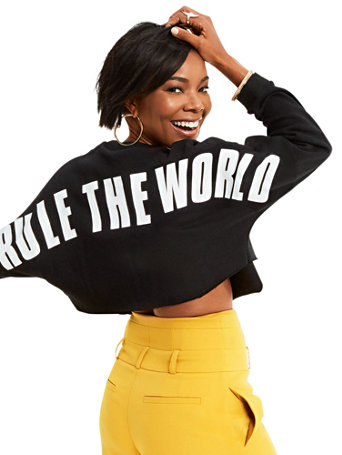 "Gabrielle Union Collection   ""Rule The World"" Sweater by New York & Company"