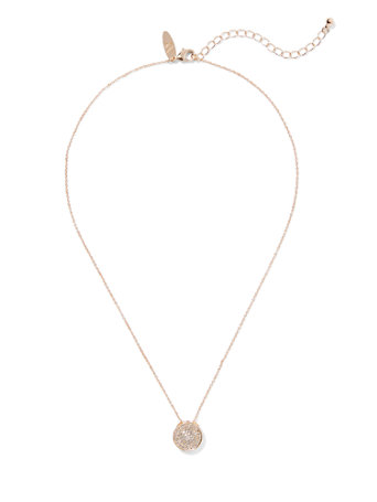 "<A Href=""/Goldtone Cubic Zirconia Pendant Necklace/A Prod14950061/?An=102567"">Goldtone Cubic Zirconia Pendant Necklace</A> by New York & Company"