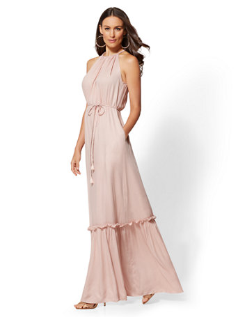 Halter Maxi Dress by New York & Company