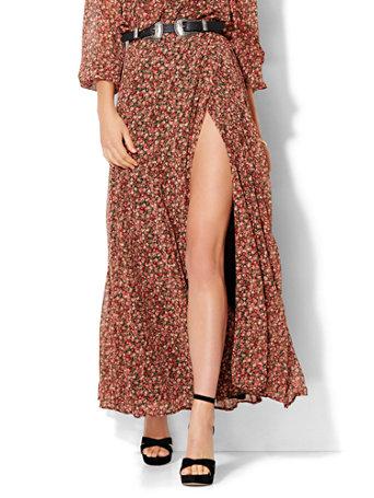NY&C: Maxi Wrap Skirt