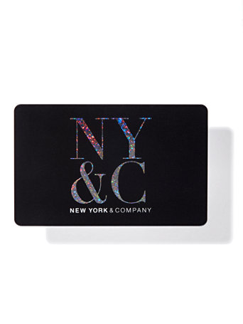 NY&C: NY&C Gift Card - Black