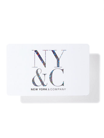 NY&C: NY&C Gift Card - White