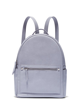 Pebblegrain Faux Leather Backpack by New York & Company