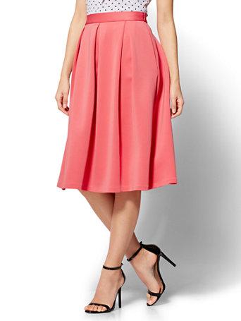 NY&C: Pleated Full Skirt
