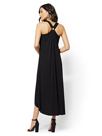 Racerback Hi Lo Maxi Dress by New York & Company