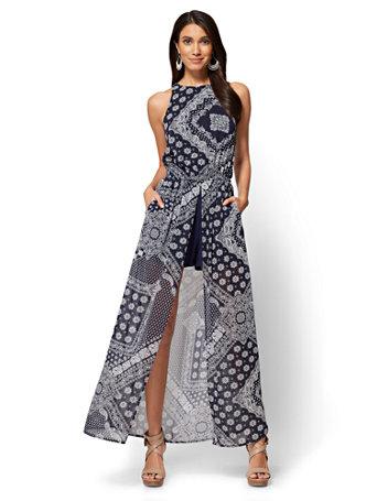 Bandana style dress