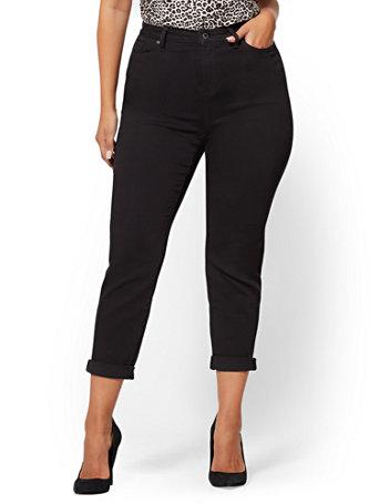 NY&C: Soho Jeans - Curvy Boyfriend - Black