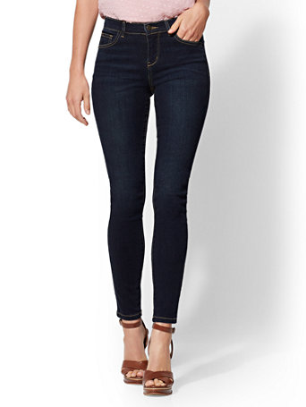 Soho Jeans   Ny&C Runway   Ultimate Stretch   Legging   Northern Blue by New York & Company