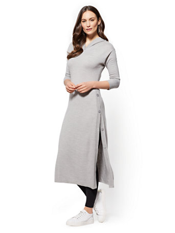 NY&C: Soho Street - Hooded Tunic Sweater