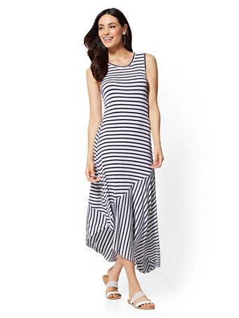 Soho Street - Maxi Tank Dress | Tuggl