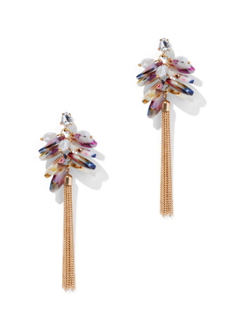Sparkling Tassel Earring by New York & Company