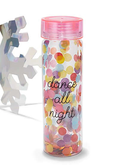 """Dance All Night"" Water Bottle - New York & Company"