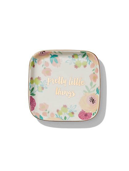 """Pretty Little Things"" Ceramic Trinket Tray - New York & Company"