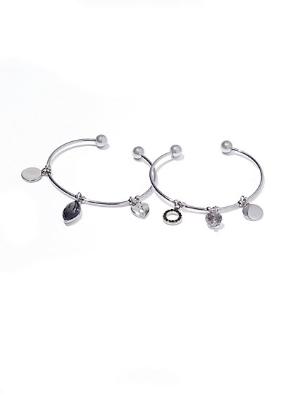 2-Piece Charm Bracelet Set  - New York & Company