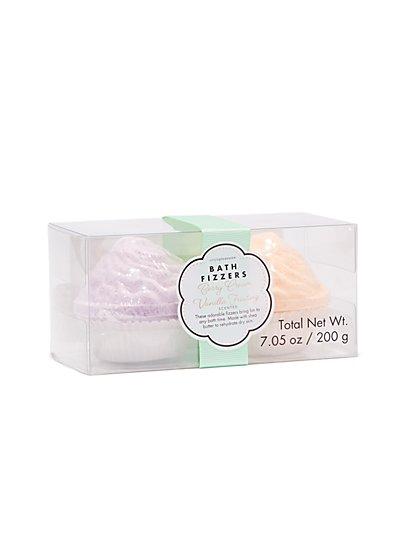 2-Piece Cupcake Bath Fizzers Set - New York & Company