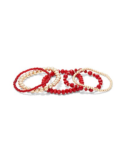 5-Piece Stretch Bracelet Set - New York & Company