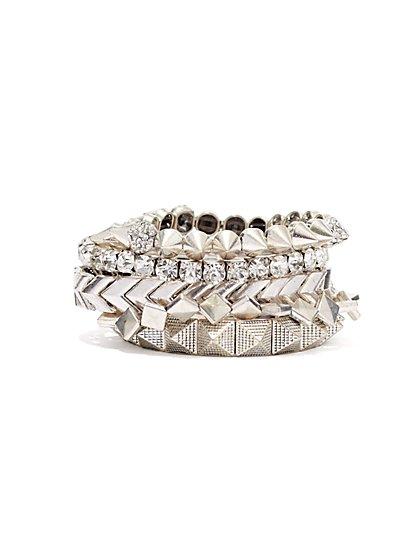 5-Row Stretch Bracelet - New York & Company