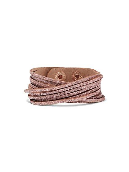 5-Row Wrap Bracelet  - New York & Company