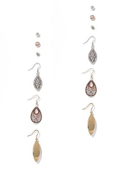 6-Piece Drop & Post Earring Set  - New York & Company