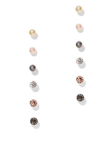 6-Piece Post Earring Set  - New York & Company