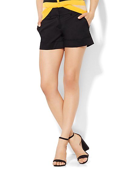 7th Avenue - 4 Inch Short - Signature Fit - Solid  - New York & Company