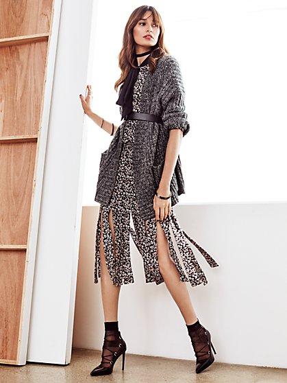 7th Avenue - Car Wash Skirt - Floral  - New York & Company