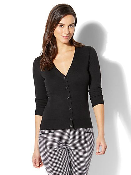 7th Avenue - Chelsea Cardigan - V-Neck - New York & Company