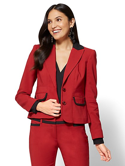 7th Avenue Jacket - Two-Button - All-Season Stretch - Petite  - New York & Company