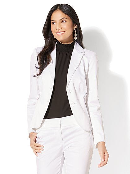7th Avenue Jacket - Two-Button - Modern - Twill - Tall - New York & Company