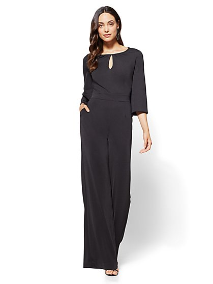 7th Avenue - Keyhole Jumpsuit  - New York & Company