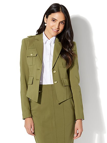 7th Avenue - Military Jacket - New York & Company