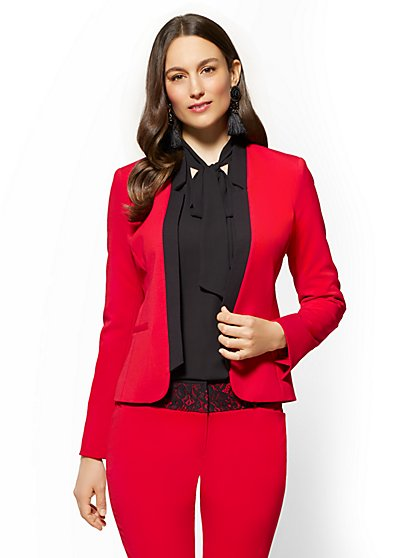 7th Avenue - Open-Front Jacket - New York & Company