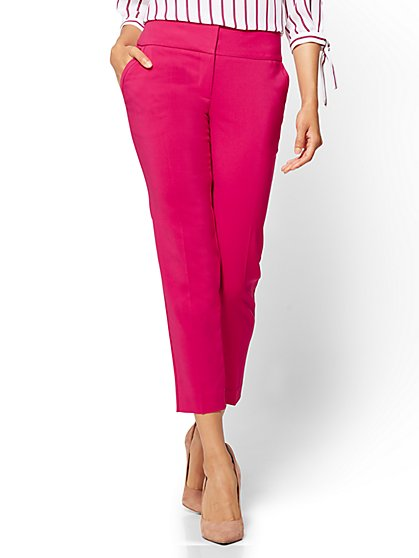 7th Avenue Pant - Ankle - Modern - All-Season Stretch  - New York & Company