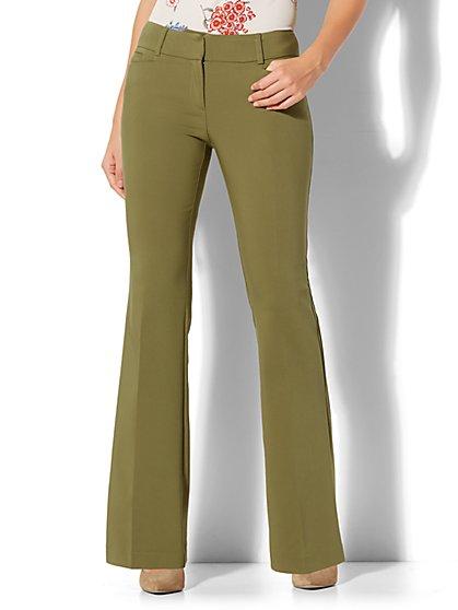 7th Avenue Pant - Bootcut - Modern - All-Season Stretch - Petite - New York & Company