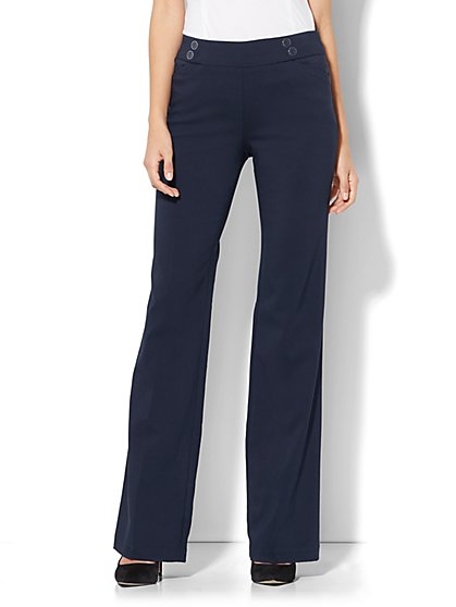 7th Avenue Pant - Bootcut - Modern - Pull-On - Ultra Stretch - Petite - New York & Company